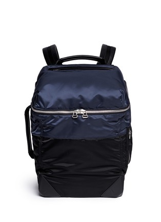 Main View - Click To Enlarge - Alexander Wang  - 'Wallie' padded bomber nylon backpack