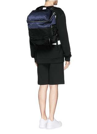 Figure View - Click To Enlarge - Alexander Wang  - 'Wallie' padded bomber nylon backpack