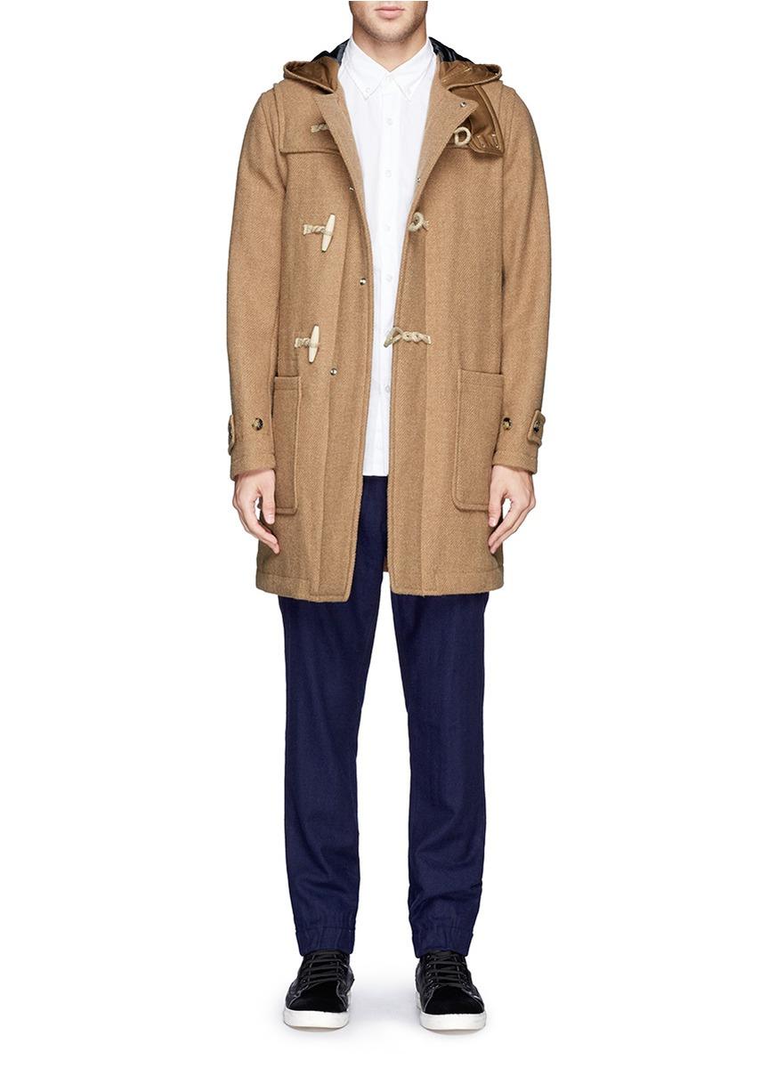 Beams Plus - Gore Windstopper® Harris Tweed Duffle Coat | | Lane ...