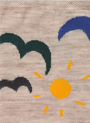 Detail View - Click To Enlarge - HANSEL FROM BASEL - 'Sea' knee high socks