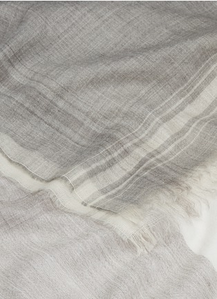 Detail View - Click To Enlarge - Faliero Sarti - 'Incky' check plaid alpaca-silk scarf