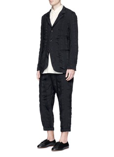 Uma Wang 'Pigiama' stripe patchwork pants