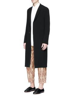 Uma Wang 'Pigiama' tribal stripe cotton pants