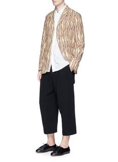 Uma Wang 'Simba' tribal stripe cotton soft blazer