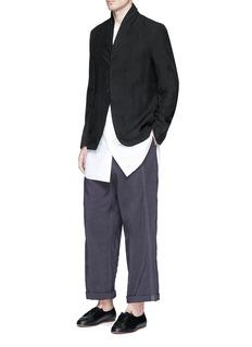Uma Wang 'Tokyo' stitch linen-cotton pants