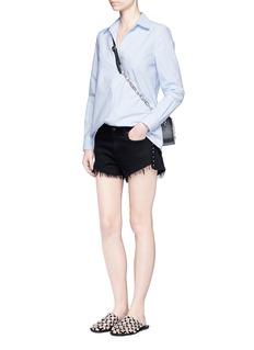 Alexander Wang Bleached effect cotton tunic