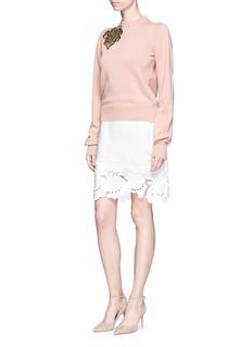 Roksanda'Kebbel' floral embroidered wool sweater