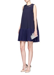Roksanda 'Oshima' scalloped edge gathered dress