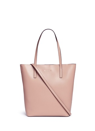 Main View - Click To Enlarge - Michael Kors - 'Emry' large leather shopper tote