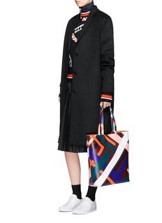 Emilio Pucci'Parioli' geometric print saffiano leather tote