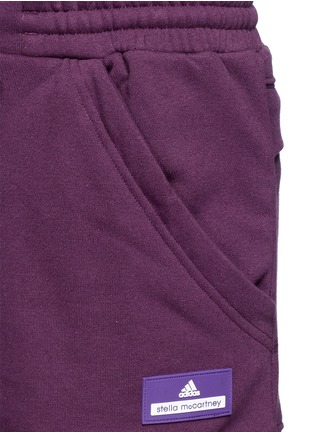 Detail View - Click To Enlarge - Adidas By Stella Mccartney - 'Essentials' French terry shorts