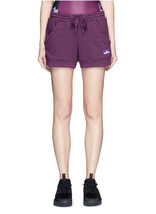 Main View - Click To Enlarge - Adidas By Stella Mccartney - 'Essentials' French terry shorts