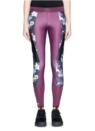 Main View - Click To Enlarge - Adidas By Stella Mccartney - 'Techfit' floral print performance leggings