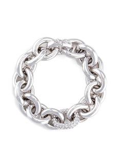 EDDIE BORGOCrystal pavé link chain bracelet