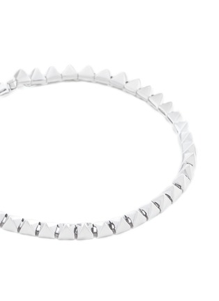 Detail View - Click To Enlarge - Eddie Borgo - Pyramid stud tennis bracelet