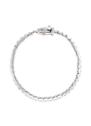 Main View - Click To Enlarge - Eddie Borgo - Pyramid stud tennis bracelet