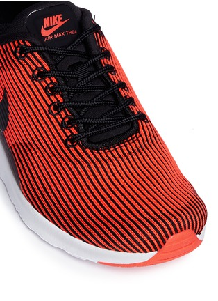 Detail View - Click To Enlarge - Nike - 'Air Max Thea' stripe jacquard sneakers