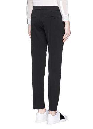 Vince - Pintuck centre seam stretch pants