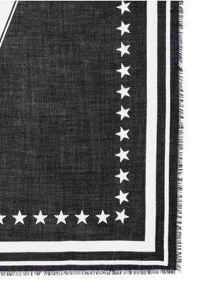 Givenchy-'17' cashmere-silk scarf