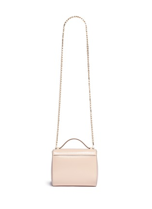 Back View - Click To Enlarge - Givenchy - 'Pandora Box' saffiano patent leather bag