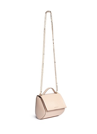 Figure View - Click To Enlarge - Givenchy - 'Pandora Box' saffiano patent leather bag