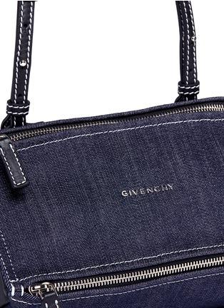 Givenchy-'Pandora' mini denim bag