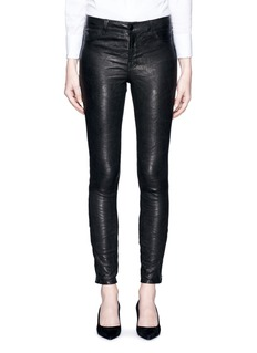 J Brand 'Super Skinny' stretch leather pants