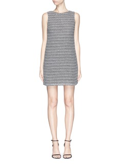 ALICE + OLIVIA 'Clyde' knit shift dress