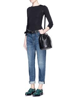 ALEXANDER WANG 'WANG 003' boy fit jeans