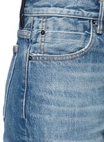 WANG 002水洗锥形牛仔裤