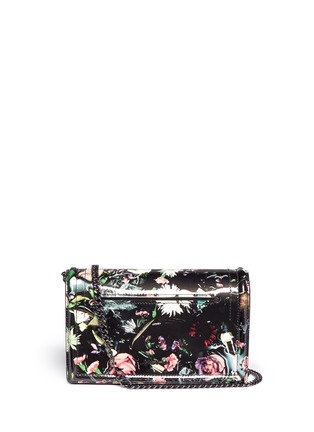 Main View - Click To Enlarge - McQ Alexander McQueen - Festive floral patent leather clutch