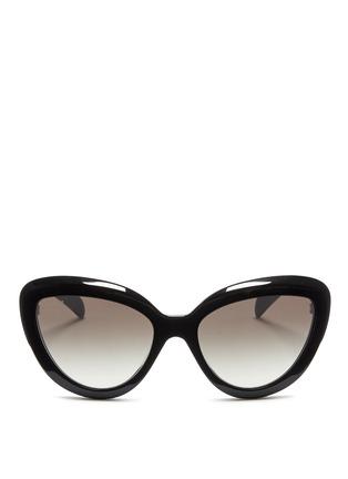 Main View - Click To Enlarge - Prada - Cat eye acetate sunglasses