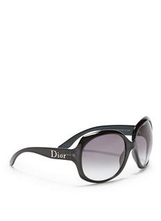 DIOROversized square acetate sunglasses