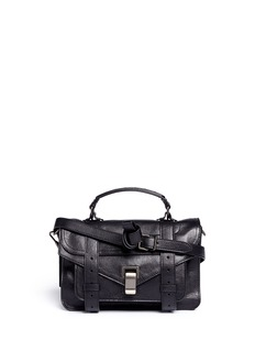 PROENZA SCHOULER PS1 tiny leather satchel
