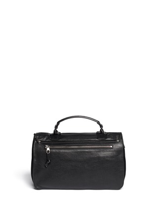 Back View - Click To Enlarge - Proenza Schouler - 'PS1' medium fringe leather satchel