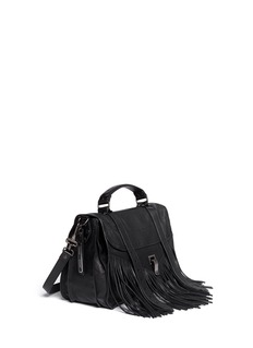 Proenza Schouler 'PS1' medium fringe leather satchel