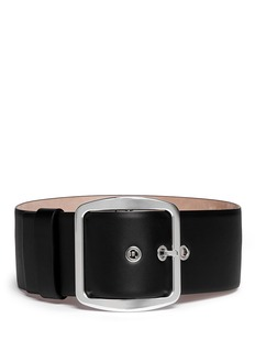 GIVENCHY Wide Leather Belt