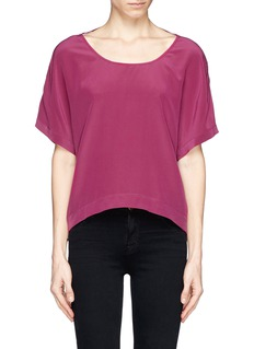 ELIZABETH AND JAMES 'Gale' silk crepe top