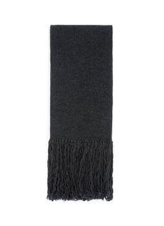 LANVIN'English' wool rib scarf