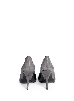 Back View - Click To Enlarge - Alexander Wang  - 'Cicely' textured dot leather pumps