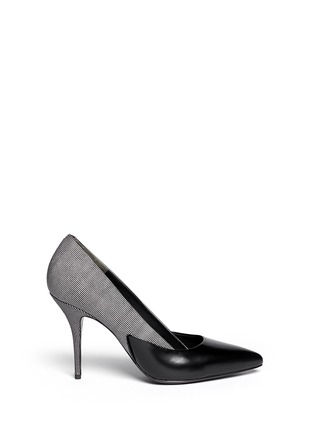Main View - Click To Enlarge - Alexander Wang  - 'Cicely' textured dot leather pumps