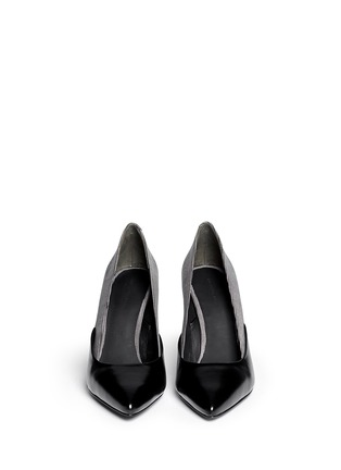 Figure View - Click To Enlarge - Alexander Wang  - 'Cicely' textured dot leather pumps