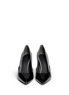 ALEXANDER WANG  'Cicely' textured dot leather pumps