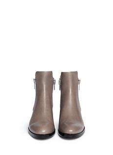 3.1 PHILLIP LIM'Alexa' zip leather boots