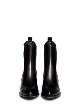 Figure View - Click To Enlarge - Alexander Wang  - 'Anouck' cutout heel leather Chelsea boots