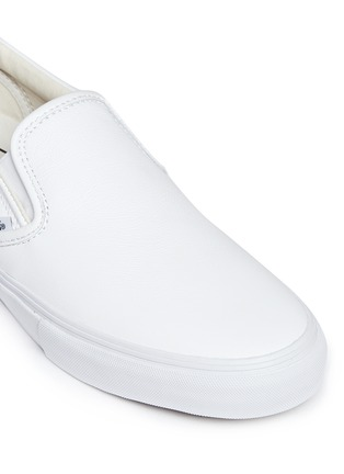 Vans - 'Classic LX' leather skate slip-ons