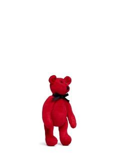 Ms MINMini felted teddy bear