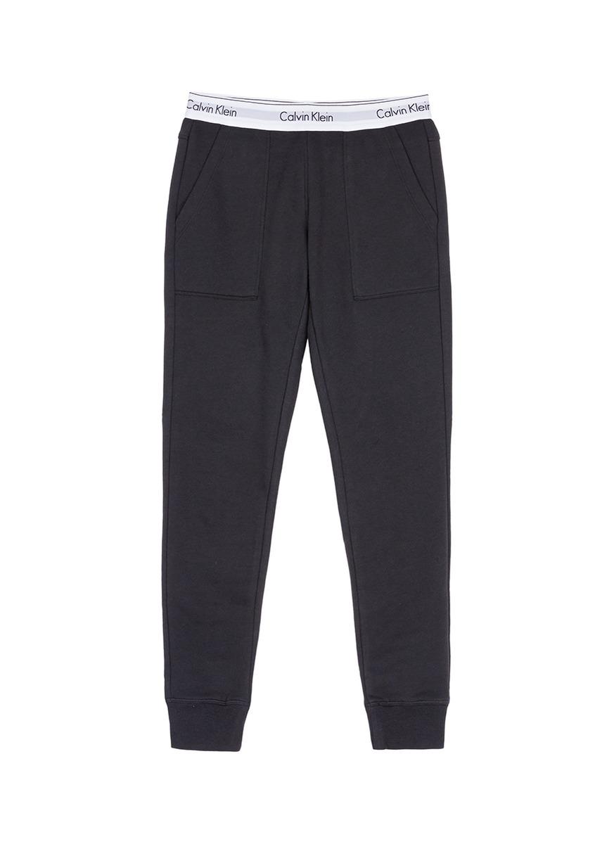 Logo waistband pyjama pants by CALVIN KLEIN ATH