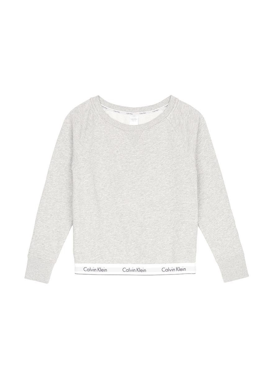 Logo hem pyjama sweatshirt by CALVIN KLEIN ATH
