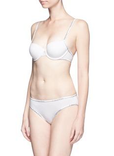 Calvin Klein Collection'AF Demi' logo push up balconette bra